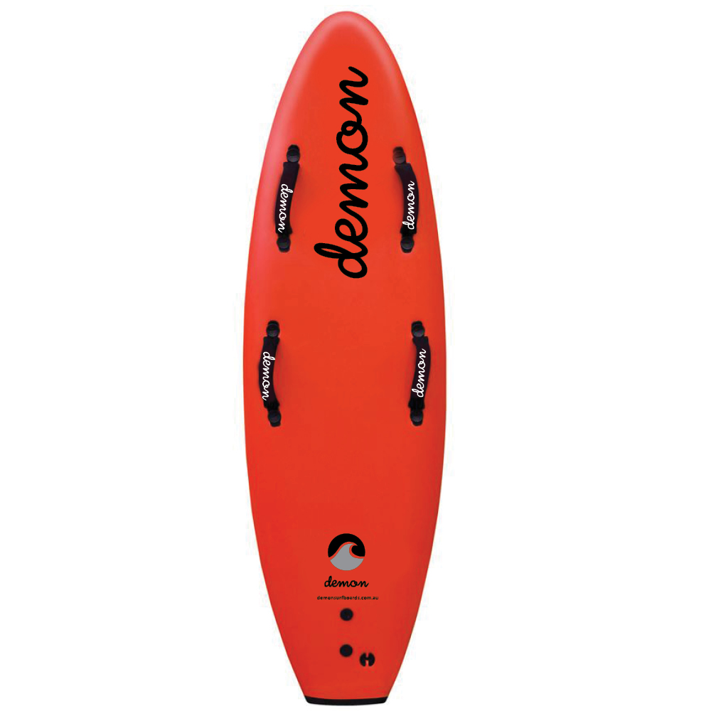 combo board 5 6 red demon surfboards