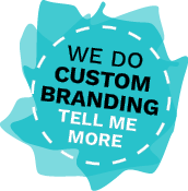 We do custom branding. Click to learn more.